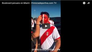 Boulevard peruano en Miami – Primiciadeportiva.com TV