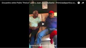 """Encuentro entre Pedro """"Perico"""" León y Juan José Muñante – Primiciadeportiva.com TV"""