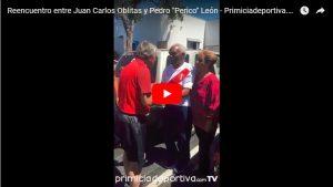 """Reencuentro entre Juan Carlos Oblitas y Pedro """"Perico"""" León – Primiciadeportiva.com TV"""