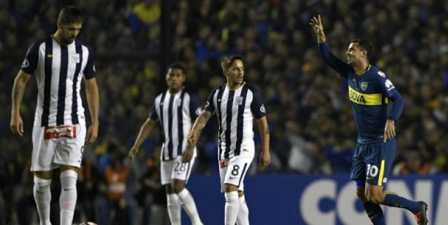 Boca avanza a los octavos de final de la Libertadores con una goleada