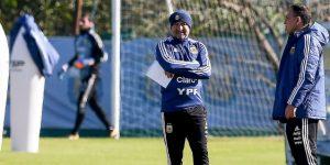 """Sampaoli admite que """"fue duro"""" desafectar al portero Sergio Romero"""