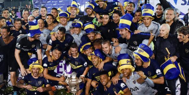 """Boca grita """"bicampeón"""" en el fútbol argentino"""