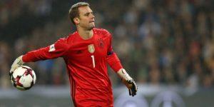 Alemania brinda lista preliminar del Mundial con Neuer y sin Götze