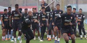 Selección peruana inicia una jornada más de entrenamientos en la Videna