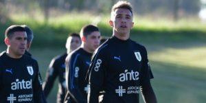 Susto por Muslera en el entrenamiento de la selección uruguaya