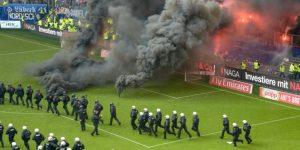El Hamburgo desciende en medio de protestas de hinchas