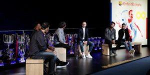 Barcelona despide a Iniesta en íntimo acto con personalidades