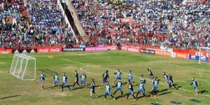 La Argentina de Messi se entrena ante una multitud de niños