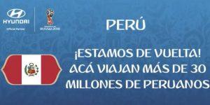 FIFA anuncia eslogan que tendrá bus de selección peruana en Rusia 2018
