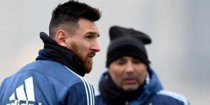 Messi llega a Argentina y comienza a entrenar para el Mundial