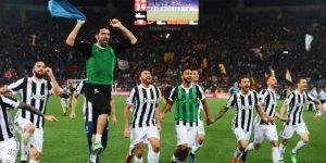 Juventus amplía su récord y gana la Serie A por séptima vez al hilo