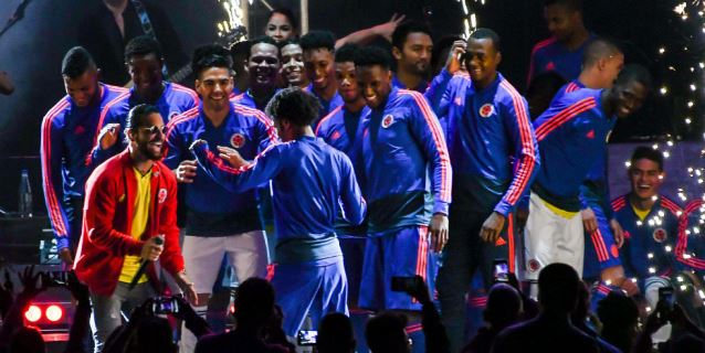 Selección de Colombia se despide de sus aficionados en Bogotá