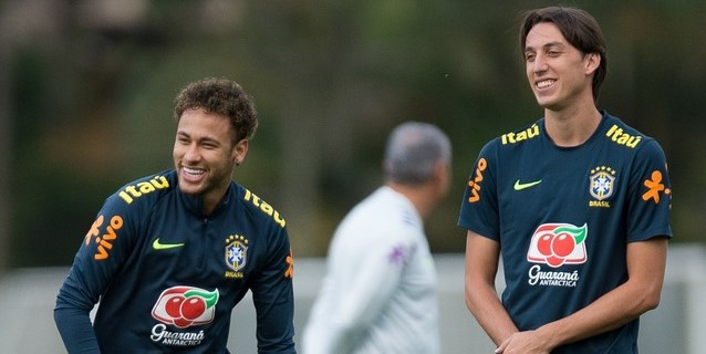 Tumultos en el único entrenamiento abierto de la selección brasileña