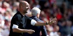 Manchester City llega a 100 puntos con agónico éxito ante Southampton