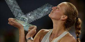 Kvitova vence a Bertens y es tricampeona en Madrid