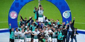 Santos consigue fuera de casa la sexta Liga mexicana de su historia