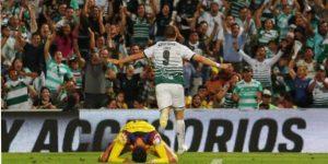 Santos y Xolos toman ventaja en semifinales de ida de Liga mexicana