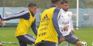 """Agüero: """"Argentina es uno de los tres candidatos a ganar el Mundial"""""""
