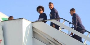 Brasil viaja rumbo a Inglaterra, donde sigue preparación al Mundial