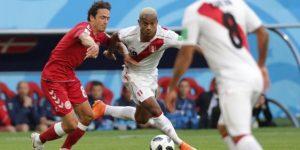 Dinamarca gana 1-0 y le arruina a Perú su regreso al Mundial
