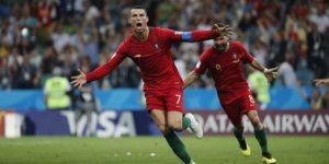 Cristiano Ronaldo es el cuarto jugador en marcar en cuatro Mundiales