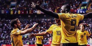 Bélgica sigue desatada y golea a Túnez con una exhibición de fútbol