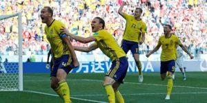 """Suecia se sacude el fantasma de """"Ibra"""" ganando a Corea del Sur"""