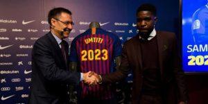 """Umtiti: """"Nunca he pensado en dejar el Barça; es mi casa"""""""