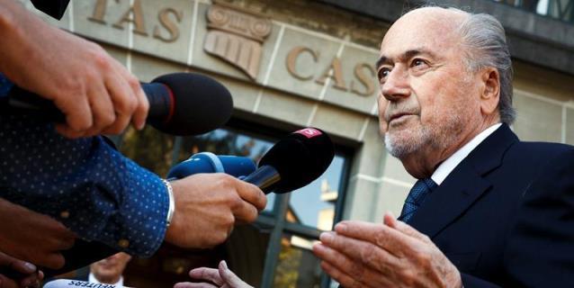 Ex presidente de la FIFA Blatter viaja la semana que viene al Mundial
