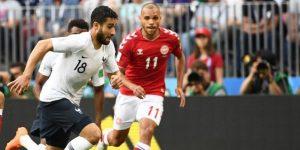 Francia y Dinamarca firman un empate entre abucheos