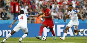 Bélgica golea 3-0 a la debutante Panamá con doblete de Lukaku