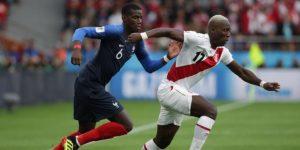 Francia termina con el sueño de Perú y avanza a octavos