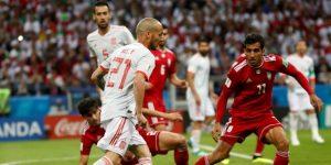 España logra su primer triunfo en Rusia con un sufrido 1-0 ante Irán