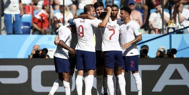 Inglaterra golea 6-1 a Panamá con triplete de Kane y está en octavos