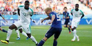 Japón reacciona dos veces y empata 2-2 con Senegal