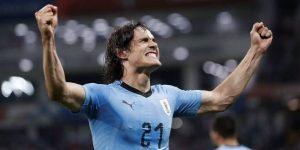Dos maravillas de Cavani echan del Mundial a la Portugal de Cristiano