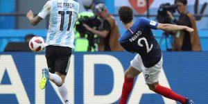 Primer triunfo de Francia sobre Argentina en un Mundial