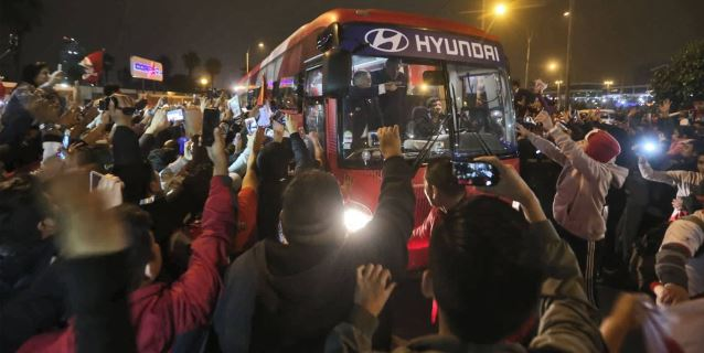 Selección peruana llegó a Lima tras participación en Rusia 2018