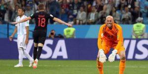 Croacia golea 3-0 a Argentina y la deja al borde de la eliminación