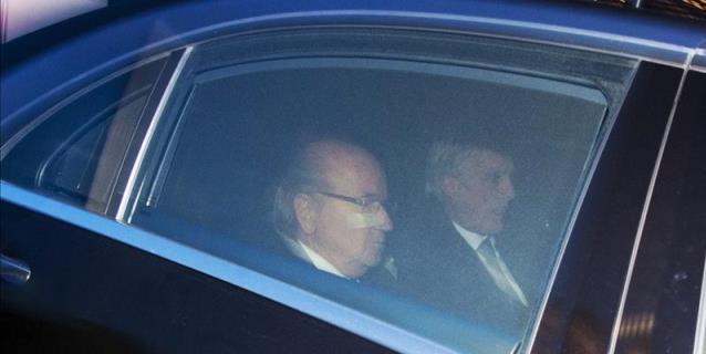 """Blatter dice presente en el Mundial: """"Sigo siendo el presidente"""""""