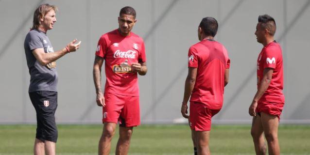 Selección peruana: así realizó su última práctica en Moscú antes de viajar a Sochi