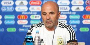 Sampaoli analiza repetir equipo por primera vez ante Francia