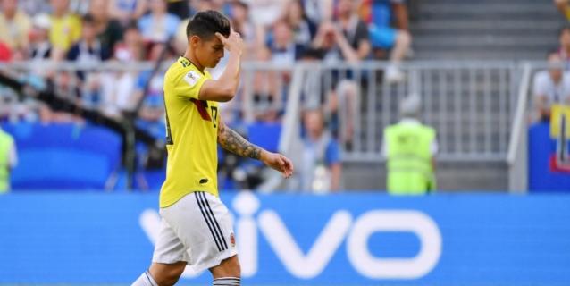 Astro colombiano James Rodríguez vuelve a faltar a entrenamiento