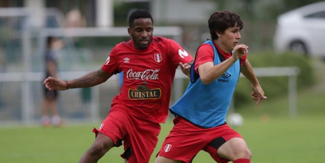 Selección peruana entrena de manera intensa para el Mundial de Rusia 2018