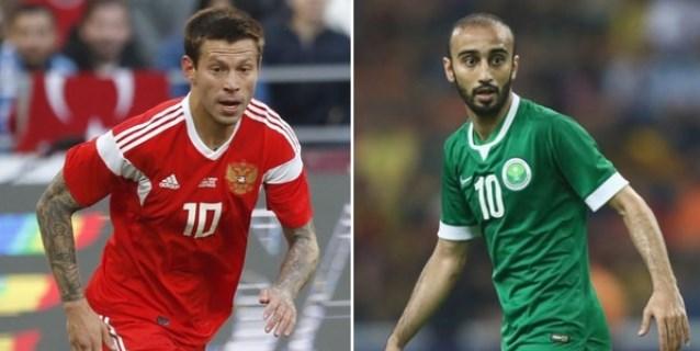"""Rusia vs. Arabia Saudí, los """"peores"""" del Mundial abren la fiesta"""