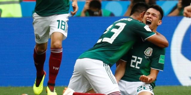 México da el golpe y tumba a Alemania en el debut en el Mundial