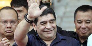 Maradona destaca goleadas de Colombia y Uruguay en el Mundial