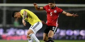 Colombia y Egipto empatan sin goles en amistoso previo a Rusia 2018