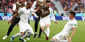 Giménez rescata a Uruguay con un gol agónico ante Egipto