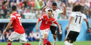 Otro impacto de Rusia: gana al Egipto de Salah y lo deja casi afuera